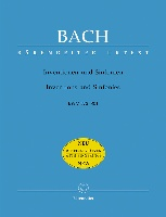 Bach : Inventions and Sinfonies BWV 772-801
