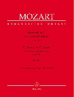 Mozart, Wolfgang Amadeus : Concerto pour piano et orchestre en ut majeur KV 467 (n° 21) / Concerto for Piano and Orchestra in C Major KV 467 (No. 21)
