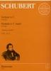 Schubert, Franz : Fantaisie en ut majeur D 760 Opus 15 Wanderer Fantaisie / Fantasy in C Major D 760 Opus 15 Wanderer-Fantasy