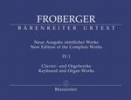Froberger, Johann Jakob : New Edition of the Complete Works. Volume 4.1 : Organ Pieces in Non-Autograph Sources / Partitas and Partita Movements, Part 2