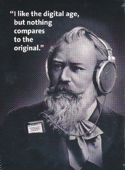 Carte Postale Brahms