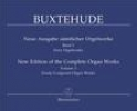 Buxtehude, Dietrich : New Edition of the Complete Organ Works - Volume 3 : Free Organ Works III