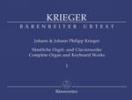 Krieger, Johann Philipp - Krieger, Johann : ?uvres complètes pour clavecin et orgue - Volume 1 / Complete Organ and Keyboard Works - Volume 1
