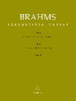 Brahms, Johannes : Trio for Violin, Violoncello and Piano op. 87