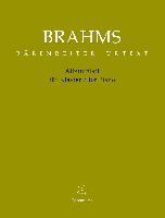 Brahms, Johannes : Albumblatt for Piano