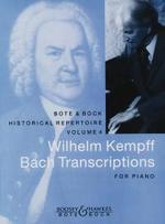 Bach, Johan Sebastian / Kempff, Wilhelm : Bach Transcriptions