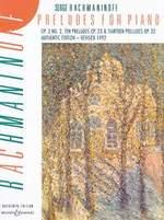 Rachmaninov, Sergueï : Preludes For Piano