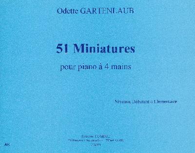 Gartenlaub, Odette : 51 Miniatures