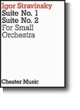 STRAVINSKY SUITE N° 1 ET 2 SMALL ORCHESTRA POCKET SCORE