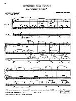 STRAVINSKY BERCEUSE and FINALE FROM `L