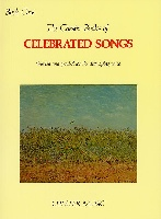 CHESTER BOOKS OF CELEBRATED SONGS BOOK 1 CHANT/PIANO