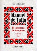 DE FALLA MANUEL EL SOMBRERO DE TRES PICOS SCORE