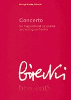 GORECKI CONCERTO FOR HARPSICHORD (or Piano) and STRING ORCH. SCORE