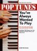 PIANO Pop : Livres de partitions de musique