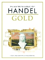 Haendel, Georg Friedrich : The Easy Piano Collection: Haendel Gold