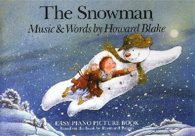 THE SNOWMAN H. BLAKE EASY PIANO
