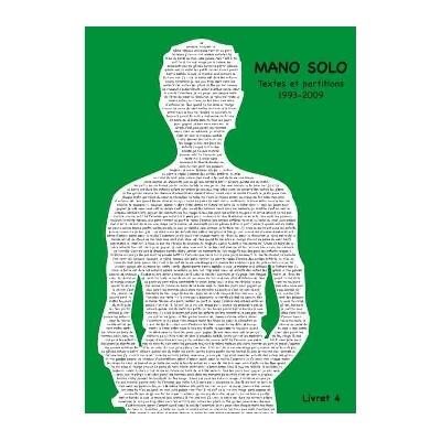 Mano Solo : Mano Solo : Livret Vol.4