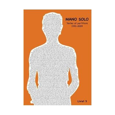 Mano Solo : Mano Solo : Livret Vol.5