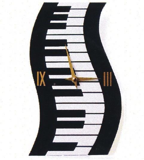 Horloge - Wavy Keyboard