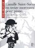 Saint Saens, Camille : Best en 13 morceaux pour piano