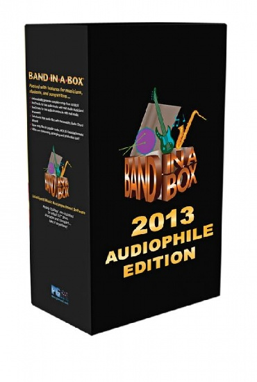 Band in a Box Audiophile MAC 2013