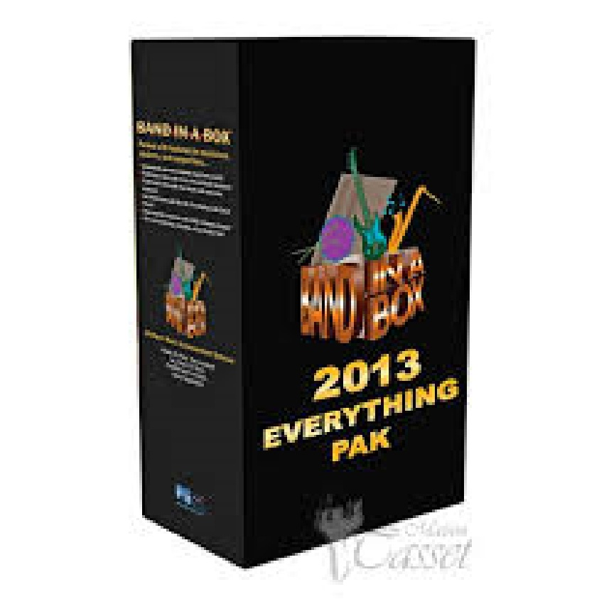 Band in a Box EverythingPAK MAC 2013