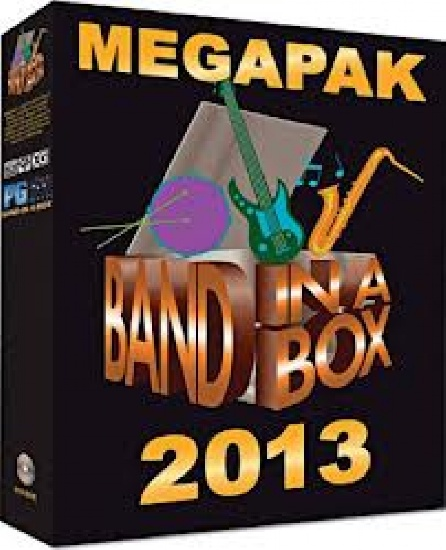 Band in a Box MégaPAK MAC 2013