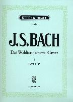Bach, Johann Sebastian : Das Wohltemperierte Klavier II