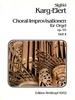 Karg-Elert, Sigfrid : 66 Choral-Improvisationen op. 65 II