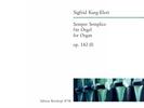 Karg-Elert, Sigfrid : Sempre Semplice op. 142 (I)