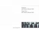 Bach, Johann Sebastian : Orgeltrios nach J.S. Bach