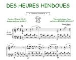 Des heures hindoues (Daho, Etienne / Munday, David)