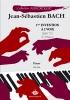 Bach, Johann Sebastian : 1ère Invention à 2 voix BWV 772 Do Majeur (Collection Anacrouse)