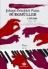 Bürgmüller, Johann Friedrich Franz : 2 études, Opus 100, n°2 « Arabesque » La mineur, n°21 « L