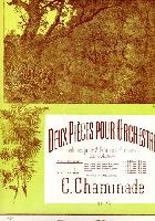 Chaminade, Cécile : Le Matin : Deux Pièces pour Orchestre Réduction pour 2 Pianos 4 mains Op. 79 N°1