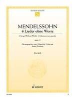 Mendelssohn, Félix : 6 Romances Sans Paroles Opus 19
