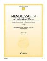 Mendelssohn, Félix : 6 Romances Sans Paroles Opus 30