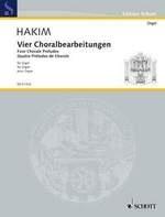 Hakim, Naji : Four Chorale Preludes