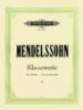 Mendelssohn, Felix : Complete Piano Works Vol.2