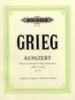 Grieg, Edvard : Concerto in A minor Op.16