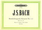 Bach, Johann Sebastian : Brandenburgische Konzerte N°1-3 BWV 1046-1048