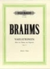 Brahms, Johannes : Variations on a Theme by Paganini (Complete) Op.35
