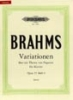 Brahms, Johannes : Variations on a Theme of Paganini Op.35 Vol.1