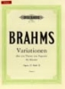 Brahms, Johannes : Variations on a Theme of Paganini Op.35 Vol.2