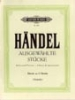 Handel, George Friederich : Album of 10 Original Pieces