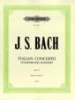 Bach, Johann Sebastian : Italian Concerto BWV 971