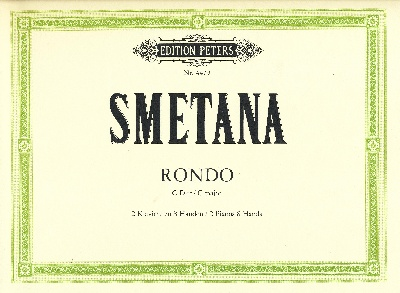 Smetana, Bedrich : Rondo in C, original