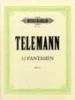 Telemann, Georg Philipp : 12 Fantasias