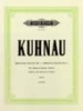 Kuhnau, Johann : 6 Sonatas Depicting Stories from the Bible: Sonata No.5