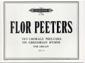 Peeters, Flor : 30 Chorale Preludes on Gregorian Hymns Vol.1 Op.75